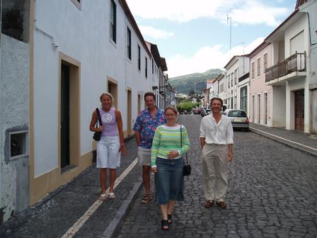 Typical Azorean street