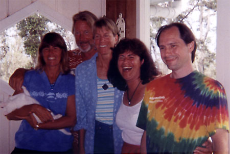 Anita, Douglas, Anne, Eileen and Hugh