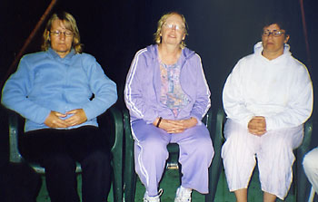 Anne, Pat and Eileen in contact