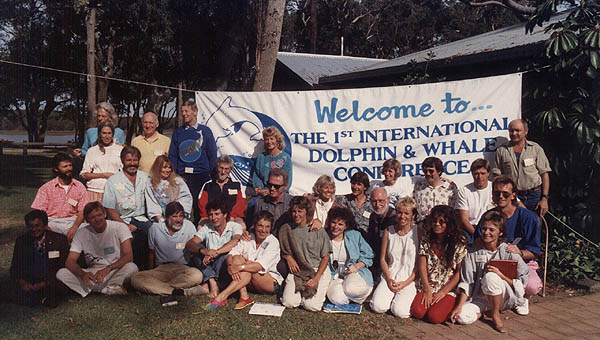 1988 International Dolphin & Whale Conference, Australia.