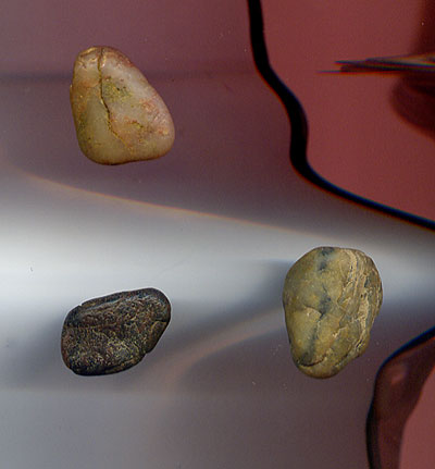 Small rock messages